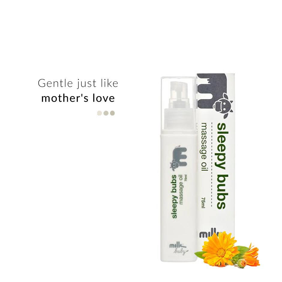 Sleepy Bubs Massage Oil (Baby) on Smytten | Massage Oil | Milk & Co.