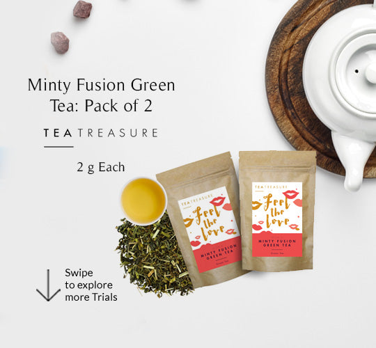 Minty Fusion Green Tea Pack of 2