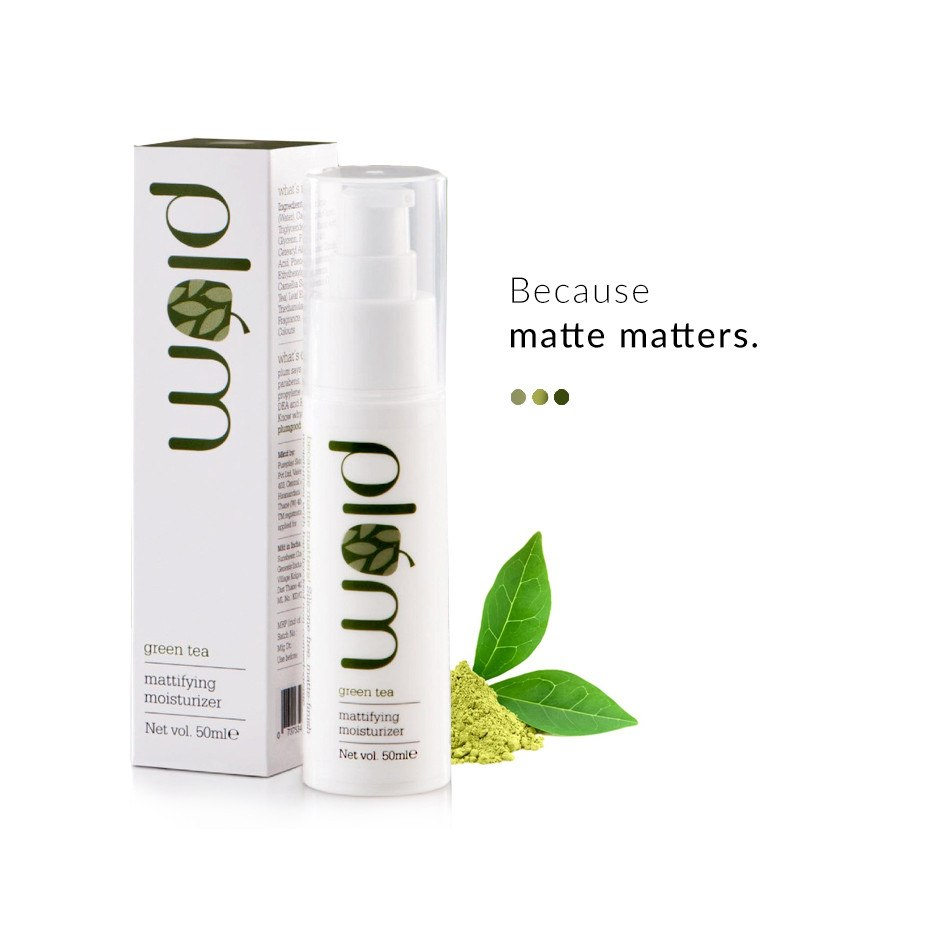 Green Tea Mattifying Moisturizer on Smytten | Moisturiser | Plum