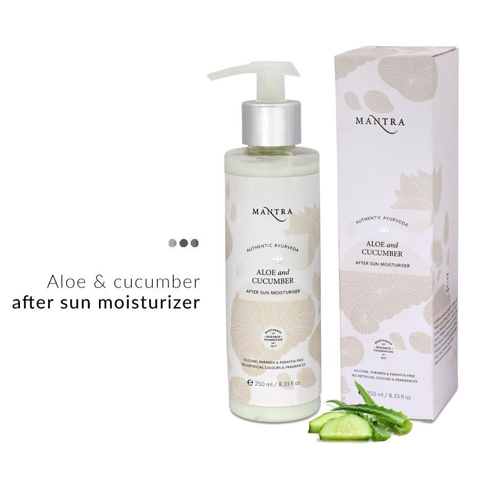 Moisturizer - Aloe & Cucumber After Sun Moisturizer