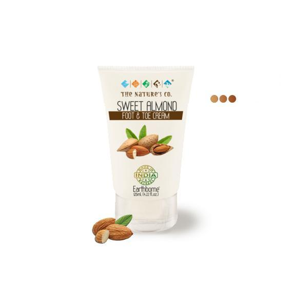 Moisturizers And Lotions - Sweet Almond Foot & Toe Cream