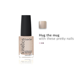 SolarGel Polish Caff̩ Latte | Kinetics | Shop on Smytten