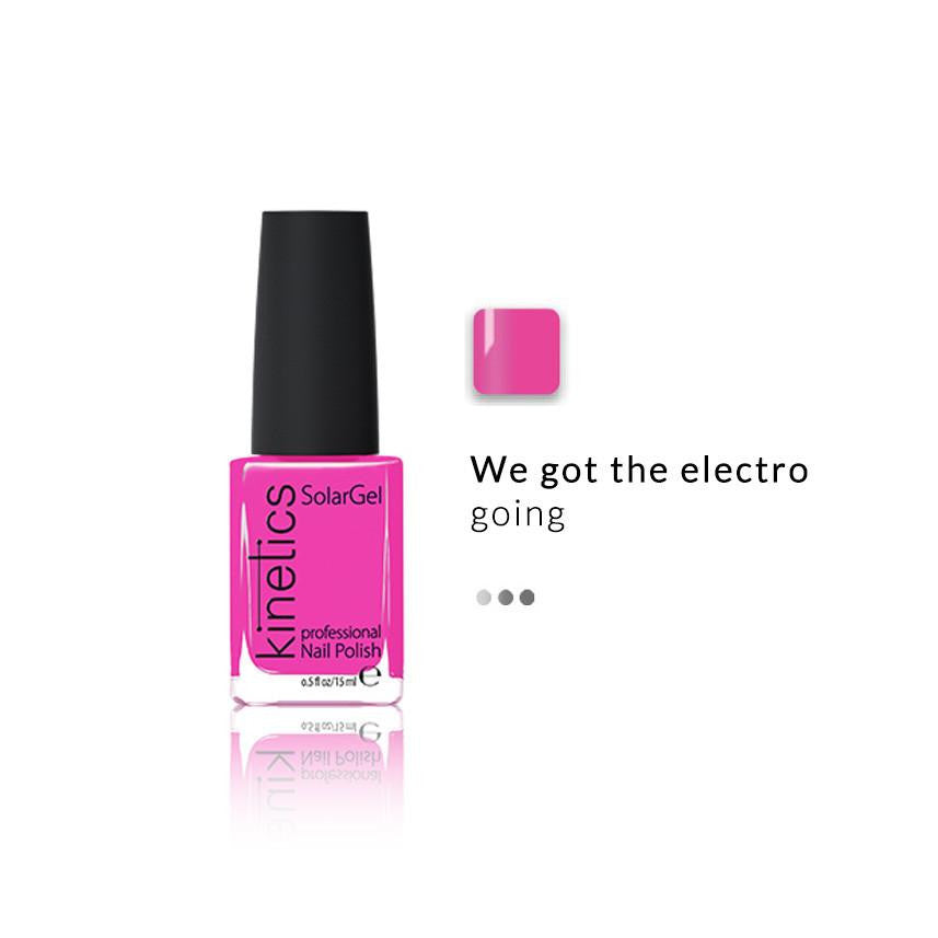 Nail Paint - SolarGel Polish Electro Pink