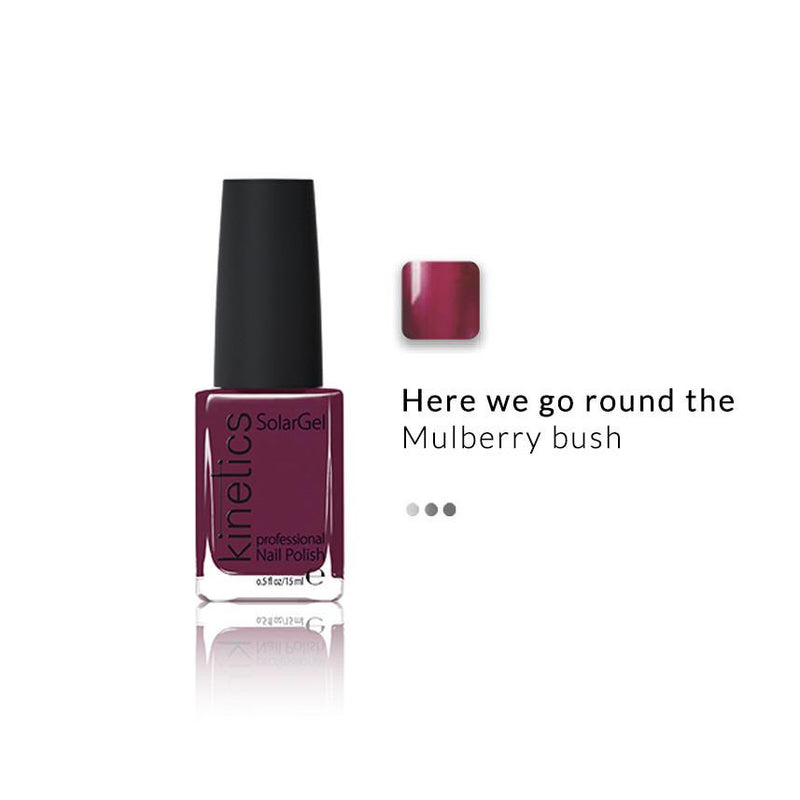 Nail Paint - SolarGel Polish Mulberry