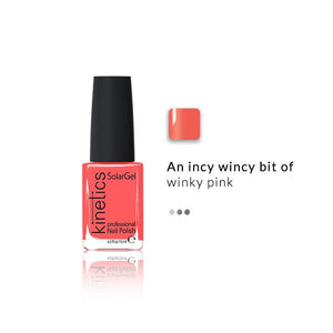 SolarGel Polish Pinky Winky | Kinetics | Shop on Smytten
