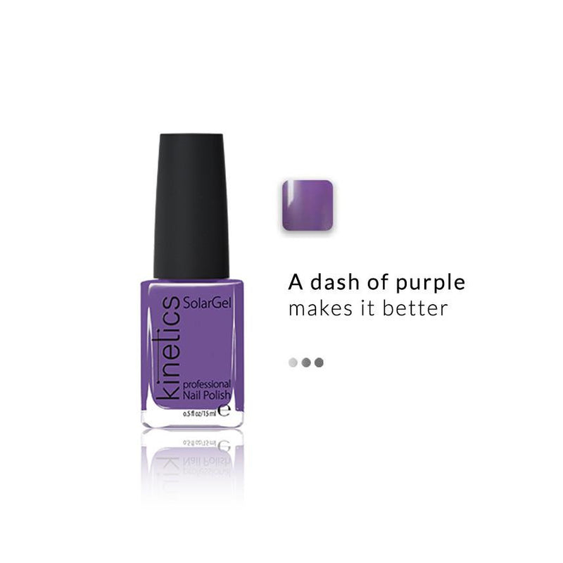 Nail Paint - SolarGel Polish Purple Madness