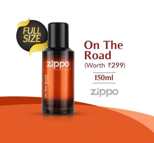 Zippo On The Road Deo