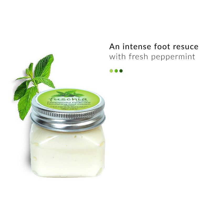 Pamper Your Feet - Peppermint Pedicare Nourishing Foot Cream