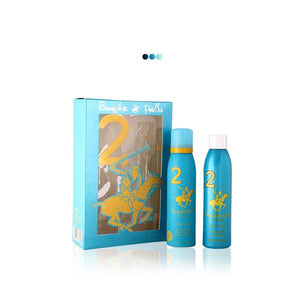 Perfumes And Body Sprays - Blue Gift Pack With Body Fragrance & Body Wash