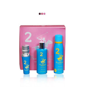 Perfumes And Body Sprays - Blue Gift Pack With Eau De Parfum, Body Fragrance & Body Wash