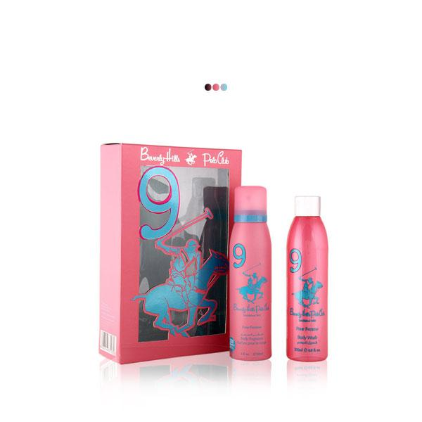 Perfumes And Body Sprays - Pink Gift Pack With Body Fragrance & Body Wash