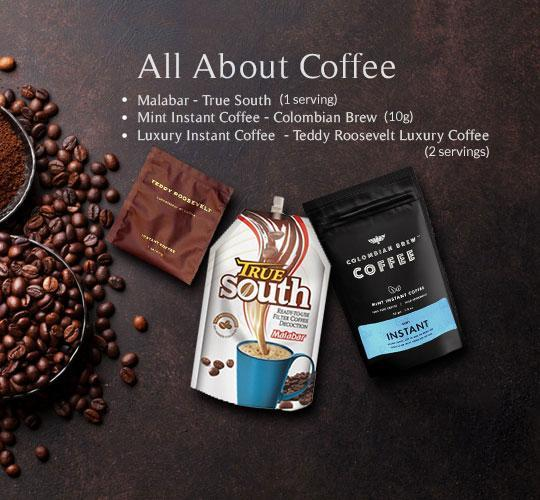 Premium Samples - All About Coffee