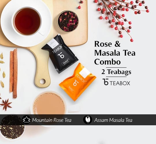 Teabox Mountain Rose & Teabox Assam Masala Chai