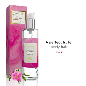 Calming Shampoo - Wild Rose | Ananda In The Himalayas | Shop on Smytten