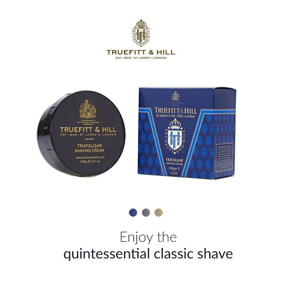 Trafalgar Shave Cream Bowl from  Truefitt & Hill | Smytten