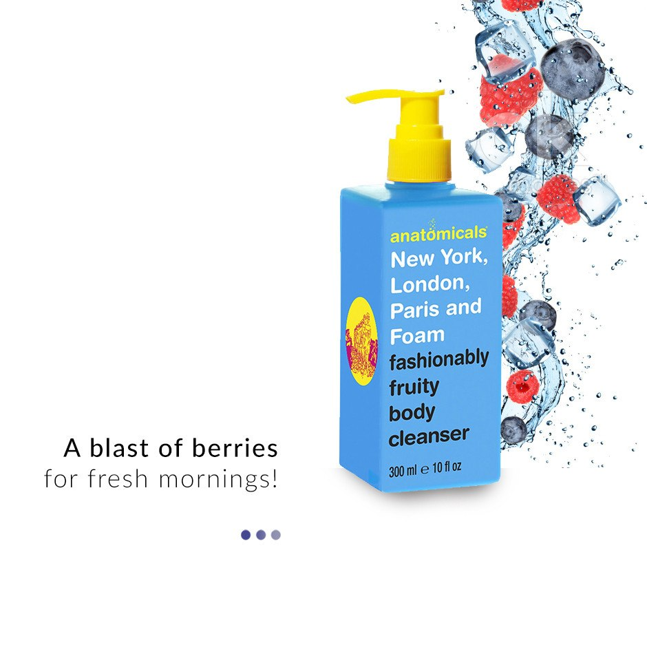 Fashionably Fruity Body Cleanser on Smytten | Shower gel | Anatomicals