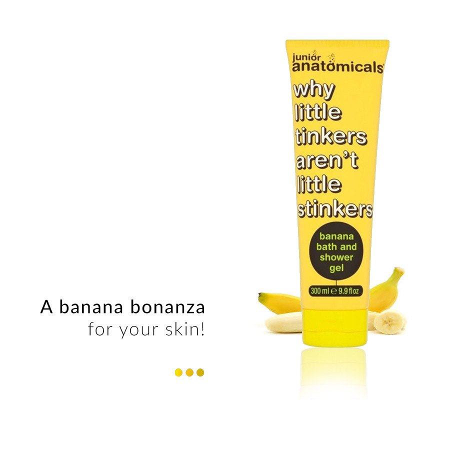 Junior Banana Bath/Shower Gel on Smytten | Shower Gel | Anatomicals