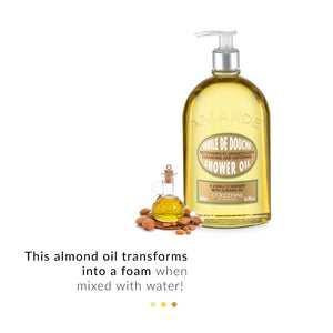 Shower Oil - Almond Shower Oil