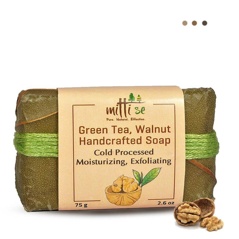 Skin Care - Green Tea & Walnut Soap