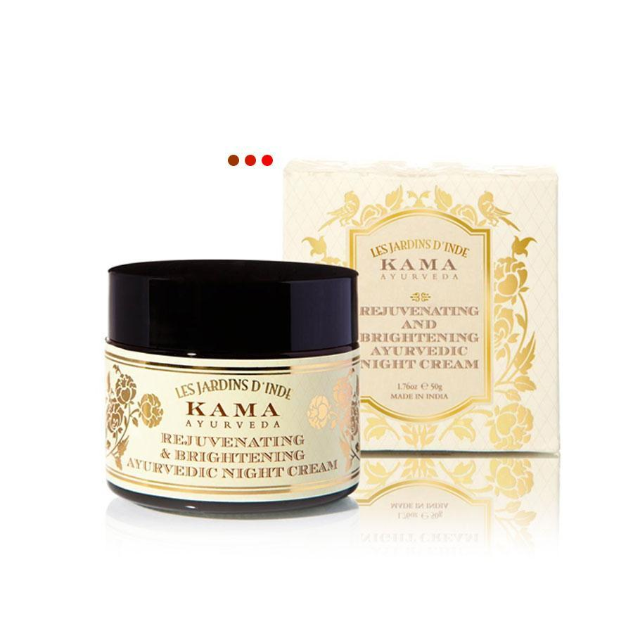 Skin Care - Rejuvenating & Brightening Ayurvedic Night Cream