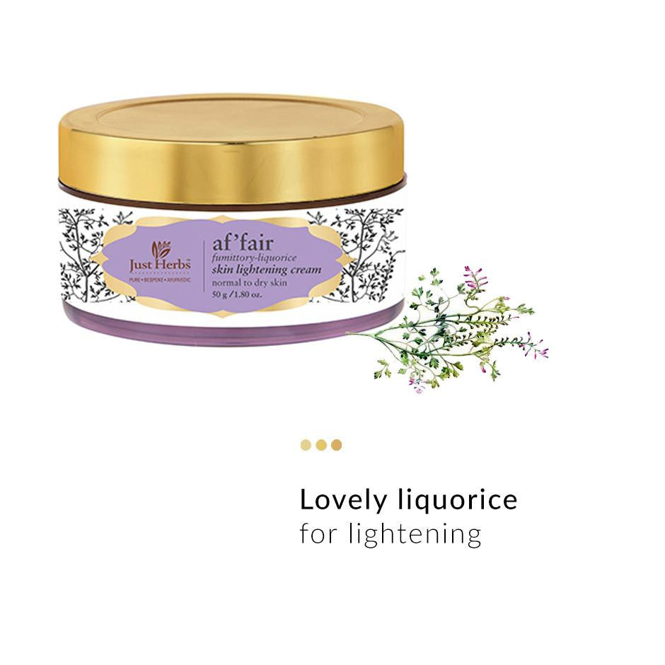 Skin Cream - Af‰۪fair Fumitory-Liquorice Skin Lightening Cream
