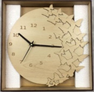 Smytten - Wooden Clock