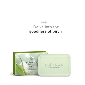 Birch & Algae Balancing Face Soap | Madara Organic Skincare | Shop on Smytten
