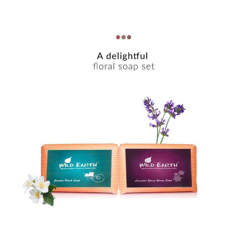 Floral Soap Combo on Smytten | Soap Combo | Wild Earth