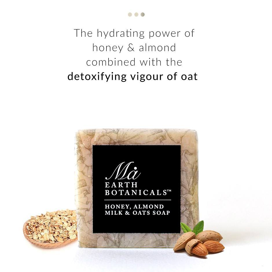 Honey, Almond & Oats Soap on Smytten | Soap | Ma Earth Botanicals