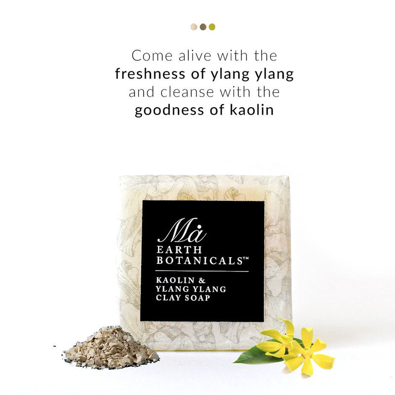 Kaolin and Ylang Ylang Soap from  Ma Earth Botanicals | Smytten