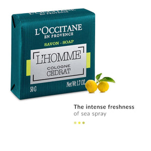 L'Homme Cologne Cedrat Soap| L'Occitane | Shop on Smytten