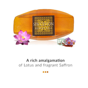 Soap - Lotus & Saffron- Cleansing Bar