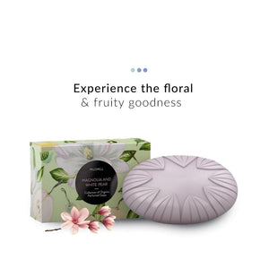 Magnolia and White Pear Organic Soap| Madara Organic Skincare | Shop on Smytten