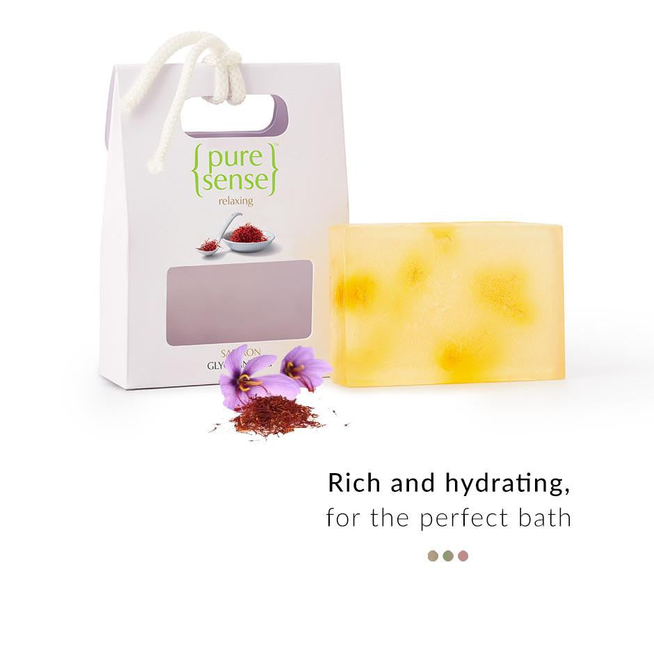 Soap - Saffron Glycerine Soap