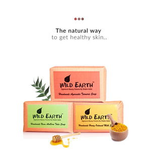 Ayurvedic Soap Set on Smytten | Soap Set | Wild Earth