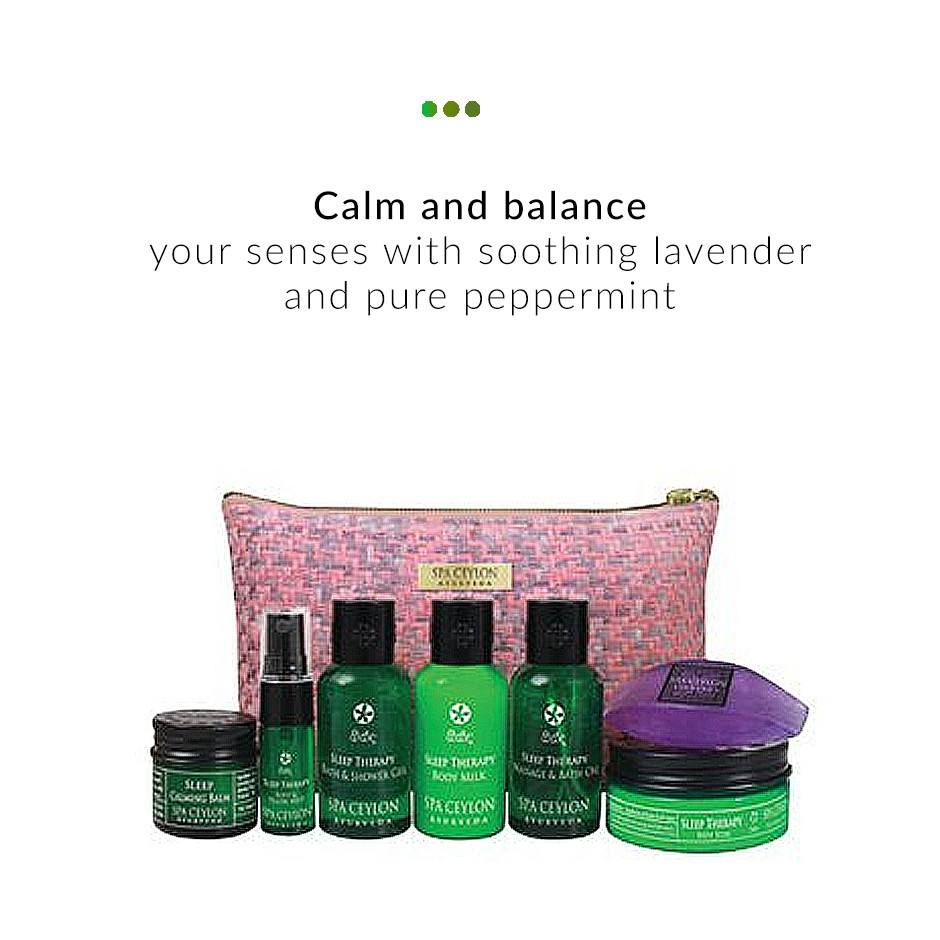 Spa Set - Home Spa Set - Sleep Therapy