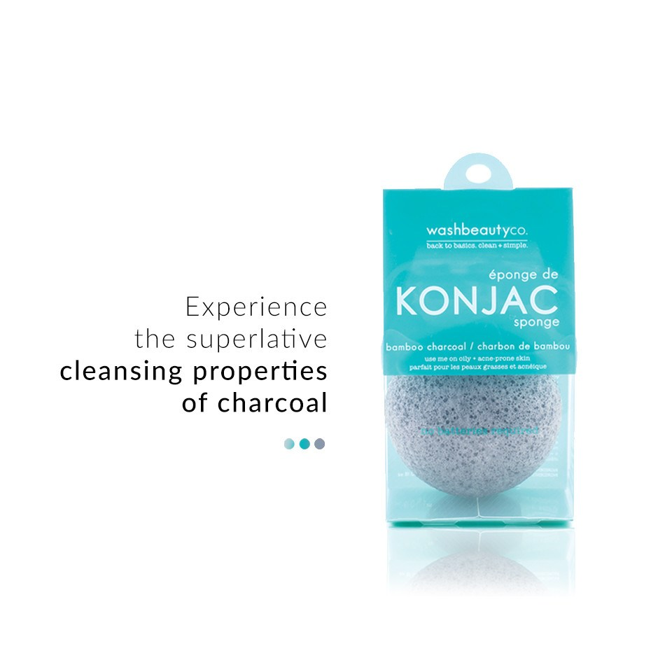Charcoal Konjac Sponges on Smytten | sponges | Maskeraide