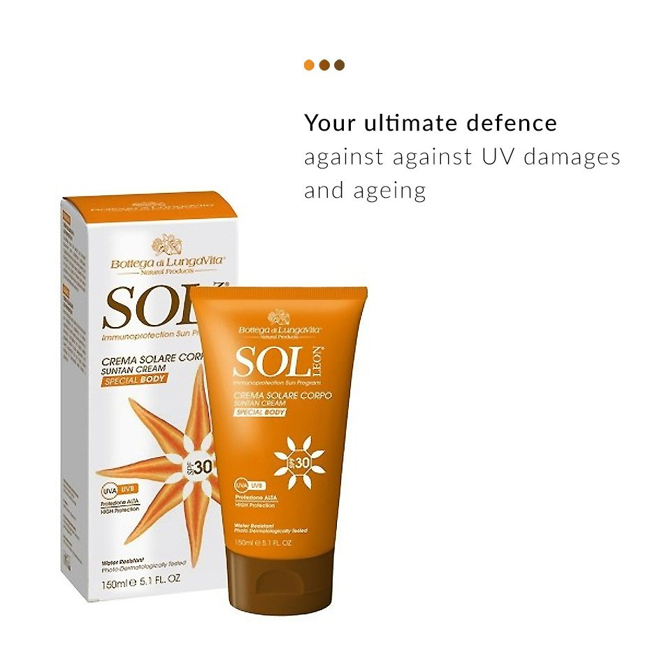 Sol Leon Sunscreen (SPF 30) from  Bottega di LungaVita | Smytten