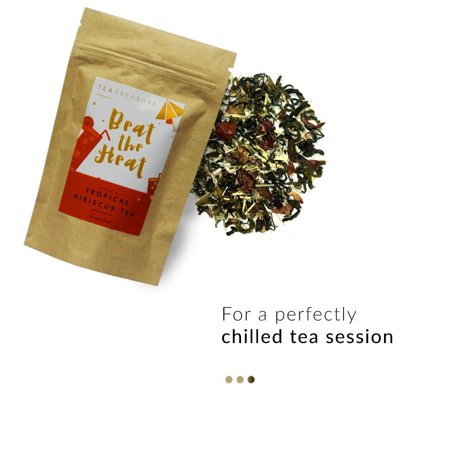 Tea - Tropical Hibiscus Green Tea