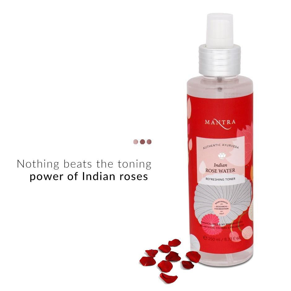 Toner - Indian Rose Water Refreshing Toner