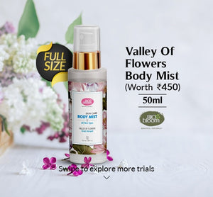 Valley of flowers Body Mist 50ml