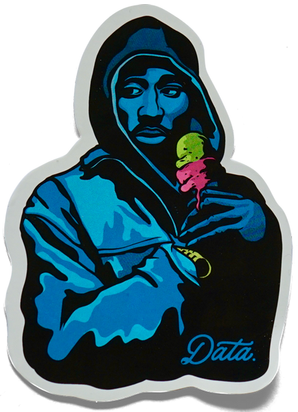 2 SCOOPS STICKER Stickers Jake Beeson x Data | DataCrew