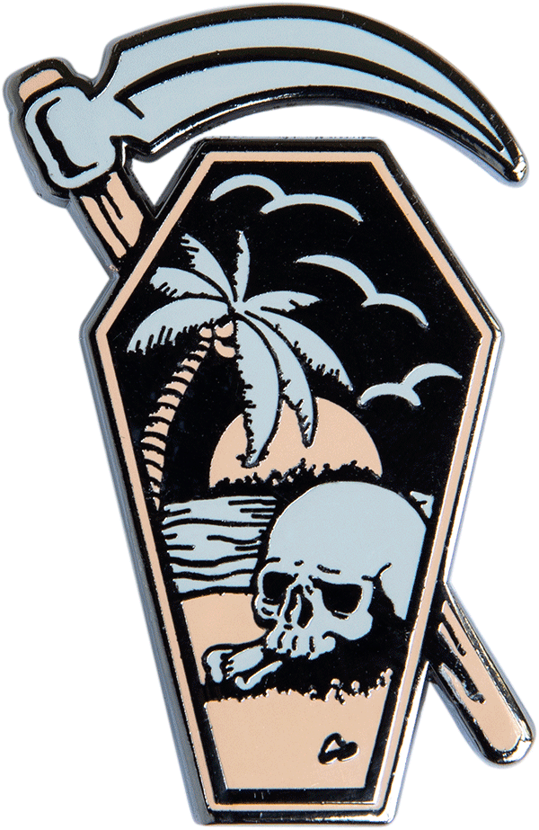 Coffin Dreams Pin - datacrew