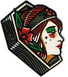 Coffin Lady Pin pin Data Crew | DataCrew