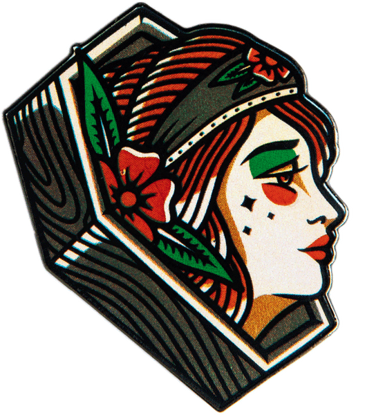 Coffin Lady Pin pin datacrew | DataCrew