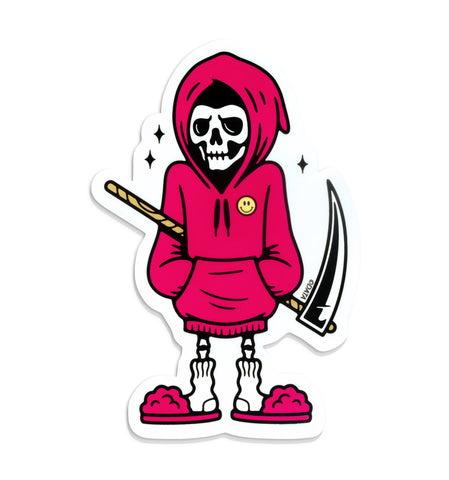 Cozy Reaper Sticker