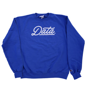 Dodger Blue Crew (Champion) sweater DATA CREW | DataCrew