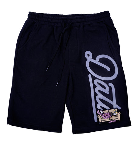 Kick Back Shorts (Black) - datacrew