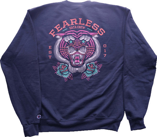 Fearless Champion Sweater sweater Data Crew | DataCrew