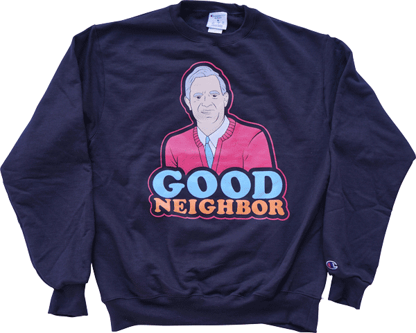 Good Neighbor Crewneck (Champion) sweater KILLTHEGIANT x DATA CREW | DataCrew